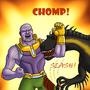 Thanos Versus Indoraptor