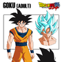 Goku Model Sheet: Dragonball Ultra