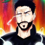 Thor as an anime character