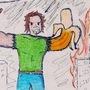 Banana-Hand-Man by LEMONxSNIFF