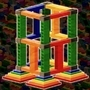 Pyramid Rocket Tower Cube by Kool-Aid