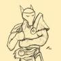 Random Warriordude sketch