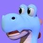 Toon snake - quick 3d model creature