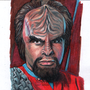 Worf Sketch card