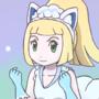 Lillie vulpix cosplay use aurora veil