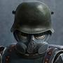 German trooper
