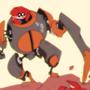 Crabulon fights regular crab
