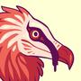 Raptor bird stickers