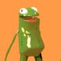 3D Frog by SwedishPlumTrees