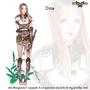 Rosgladia: Dina colored