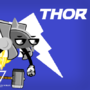 """Thor Toppy avenger Toy """"Final episode of Season 1 of News Section Show"""""""