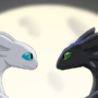 Nightfury and Lightfury