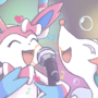 Primarina and Sylveon concert by FantHarubi