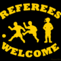 Referees welcome