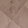 dancer drawing