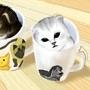 Kitten In Cups