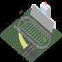 Islometric Pixel Track