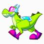 Dinogon Walk Cycle