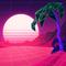 Vaporwave Dream - Summer Jam Key Background