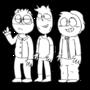 Three Toony Doofi