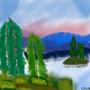 Lake (Inspired by bob ross.)