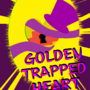 Golden trapped heart cover