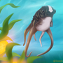 Cuddlefish Painting