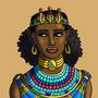 Cleopatra with the Triple Uraeus