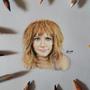 Bryce Dallas Howard Miniature Portrait