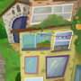 A cliff village