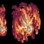 Fire cross sprites