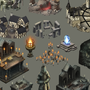 Monsters Den Godfall Isometric Art