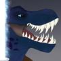 Blue Jedi T-Rex
