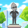 I am the statue man
