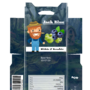 Mint tablet template design - Blueberry