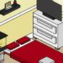 My Bedroom (In Pixels!)