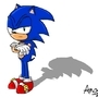 Sonic Pose by Anco6900