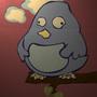Scoodels the Stupid Bird by AaronVasquez