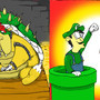 Bowser Defeated by MrCreeep