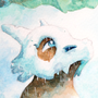 Cubone is waiting for the sky to clear