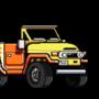 pixel art vehicle