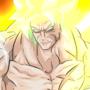 Broly. The legendary Saiyan