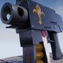 3D Punisher Gun