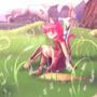A resting adventurer by Skytheartist