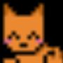 pixel art cat