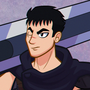 Guts the black swordsman by Anioco