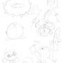 Kirby Doodles