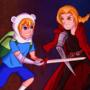 Edward Elric vs Finn the Human by ultraviolanta