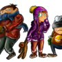 Winter kiddos by TheShadling
