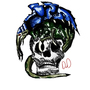 malanthrope skull by TheL1st